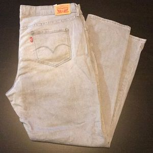Gray 311 Shaping Skinny Stretch Jeans. Size 22W